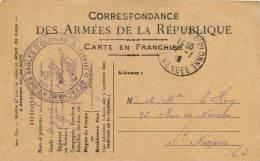 CORRESPONDANCE MILITAIRE   15 PIECES DIFFERENTES  ST NAZAIRE  LES SABLES DOLONNE   CACHET - Guerre 1914-18