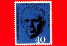 GERMANIA - Usato - 1960 - George C. Marshall - 40 - Gebraucht