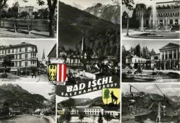 BAS ISCHL - OBERÖSTERREICH - ÖSTERREICH - SCHÖNE MEHRBILD ANSICHTKARTE 1961. - Bad Ischl