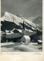 MITTELBERG - KLEINES WALSERTAL - VORALBERG  - ÖSTERREICH - SCHÖNE ANSICHTKARTE 1953. - Kleinwalsertal