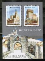 CEPT 2012 BG MI BL 354 BULGARIA - 2012