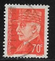 N° 511  FRANCE  -  PETAIN  -  OBLITERE  -  1941 / 1942 - Usados