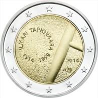 "FINLANDIA  FINLAND   2€ Bimetálica    2.014  2014   SC/UNC   ""ILMARI TAPIOVAARA""   T-DL-11.305 - Finland"