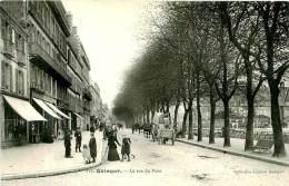 Belle Carte  -  Quimper - La Rue Du Parc      ,animée                         E846 - Quimper