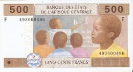 BILLETE DE GUINEA ECUATORIAL DE 500 FRANCS DEL AÑO 2002  (BANKNOTE) SIN CIRCULAR-UNCIRCULATED - Guinée Equatoriale