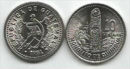 Guatemala 10 Centavos 1994. UNC - Guatemala
