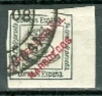 Spanien Marokko 1903 1/4 C. Gest. Zeitungsmarke Krone - Spanisch-Marokko