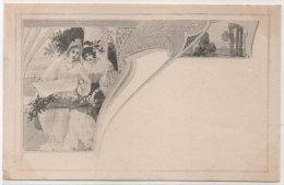 M.M. VIENNE - Femmes -  Art Nouveau     (76915) - Vienne