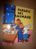 1956 Au PARADIS Des ANIMAUX N° 6   écrit Et Dessiné Par Alain Saint-Ogan ,  édité Par La VACHE Qui RIT - Bücher, Zeitschriften, Comics