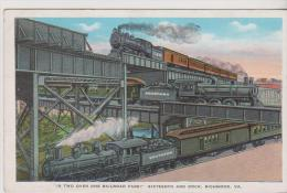IS TWO OVER RAILROAD FARE-SIXTEENTH AND DOCK RICHMOND-VA- - Richmond