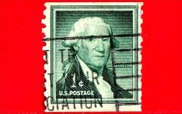 USA - STATI UNITI - Usato - 1954 - George Washington - 1 C - Oblitérés