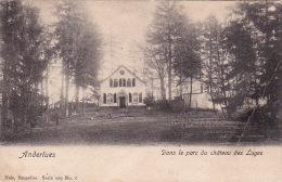 Anderlues 15: Dans Le Parc Du Château Des Loges 1910 - Anderlues
