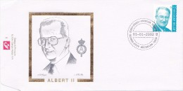 FDC-01- - Belgique Enveloppe FDC  - COB 3051 - 2800 Mechelen - Roi Albert - Koning Albert II 2002 -  Du 1-1-2002 - 1,5€ - 2001-10