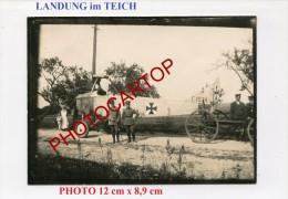 Transport AVION Allemand-C.1034-OFFICIERS-NON SITUEE-Aviation-FLIEGEREI-PHOTO Allemande-Guerre 14-18-1 WK-MILITARIA-8-8- - 1914-1918: 1st War