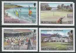 Montserrat. 1986 Tourism. MNH Complete Set. SG 710-713 - Montserrat