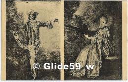 PARIS - Musée Du Louvre - Watteau (Antoine) - I. - L'Indifférent - II. - La Finette - 2e - S.-IX. - N° 6 - Paintings