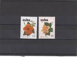 Cuba Nº A308 Al A309 - Aéreo