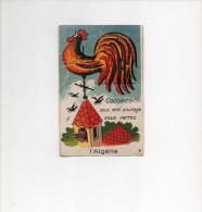 """ALGERIE :  CARTE A SYSTEME Illustration De """"  GABY  """" ,10 VUES DEPLIANTES D´ALGERIE - N  9 - Mechanical"""