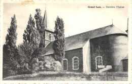 Grand-Leez - Derrière L'Eglise           ( 2 Scans ) - Eghezée