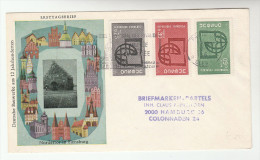 1967 FRANCE FDC UNESCO Stamps   Cover Un United Nations - FDC