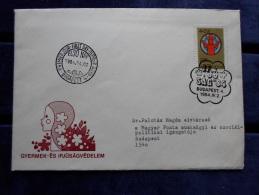 HUNGARY   FDC 1984 - Gyermek és Ifjúságvédelem   J43.22 - FDC