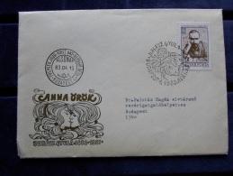 HUNGARY   FDC 1983  - Juhász Gyula  1883-1937   J43.23 - FDC