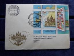 HUNGARY   FDC  -1983  -Interparlamentáris Unió  V.Konf.  Budapest   J44.24 - FDC
