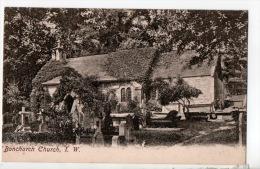 ROYAUME-UNI . ISLE OF WIGHT . BONCHURCH CHURCH - Réf. N°8774 - - Angleterre