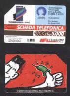 Italy - Telephone Card Magnetic Card AIDS CT.010 - Da Identificare