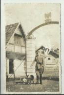 1940 GAF GUARDIA ALLA FRONTIERA.  PALUZZA UDINE. VALLO ALPINO SETTENTRIONALE XVI CADORE-CARNIA ( Cod C 112) - Guerra 1939-45