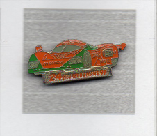Pin´s  Sport  Automobile  F 1  MAZDA  N° 55,  24  Heures  Du  MANS  91 - F1
