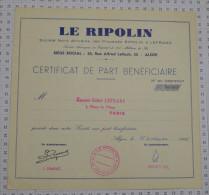 Sté Nord Africaine Des Procedes Ripolin Et Lefranc A Alger - Industrie