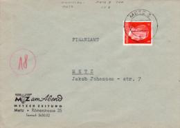 Lothringen DR Mi. 786 Auf Brief Gest. -  Ansehen!! - Occupation 1938-45