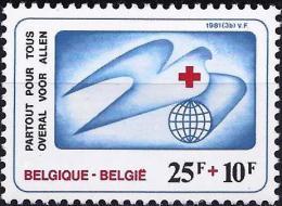 Belgium 1981 - International First Aids ( Mi 2057 - YT 2005 ) MNH** - Belgium
