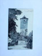 Carte Postale Ancienne : MONTVALENT : La Tour Et La Place, Animé - Autres Communes