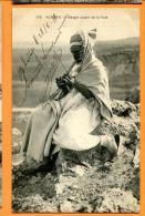 MN3-08  Algérie, Berger Jouant De La Flute. Flötte. Circulé Sous Enveloppe En 1911 ................ CHEQUE ACCEPTé ! - Algeria