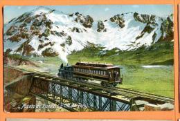 MN3-10  Puente De Viscas   F.C.C. Del Peru. Mentions Au Dos, Not Used. Train. - Pérou