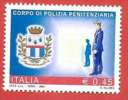 ITALIA REPUBBLICA MNH - 2004 - Corpo Di Polizia Penitenziaria - € 0,45 - S. 2771 - 2001-10:  Nuovi