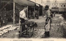 FOIRE DE NIJNY NOVGOROD Marchand De Peaux (gros Plan) - Russie