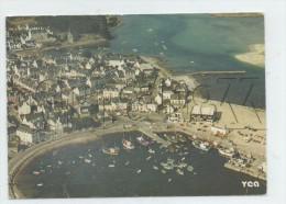 Plobannalec-Lesconil (29) : Vue Aérienne Au Niveau Du Quartier Du Port En 1970 (animé) GF. . - Plobannalec-Lesconil
