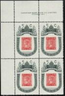 CANADA 1962, MINT, # 399  VICTORIA CENTENARY 1860 B.C. UL  BLOCK M NH - Blocs-feuillets