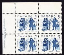 CANADA 1962, MINT, # 398, JEAN TALON ET LES COLONISTS     UL BLOCK M NH - 1952-.... Règne D'Elizabeth II