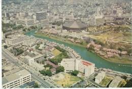 Tokyo Japan, Fairmont Hotel, Aerial View Of Neighborhood, C1970s Vintage Postcard - Tokio