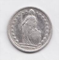 SWITZERLAND  SUISS  1 Franc 1887 B  Scarce Silver Coin - Switzerland