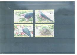 WWF-TOKELAU-AVES  210/213 (4V) 1995 MICHEL - Tokelau