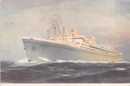 "01382  ""MOTOR SHIP BATORY - POLISH OCEAN LINES - GDYNIA - POLAND"". CART. POSTALE.  SPEDITA - Banques"