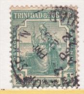 TRINIDAD & TOBAGO  12  (o)    Wmk 4 - Trinidad & Tobago (...-1961)