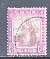 TRINIDAD & TOBAGO  18  (o)    Wmk 4 - Trinidad & Tobago (...-1961)