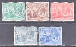 TRINIDAD & TOBAGO  21-5   (o) - Trinidad & Tobago (...-1961)