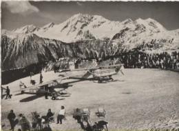 Courchevel - L'Altiport - Avions - Courchevel